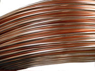 Steel Strip Copper Coated Bundy Tube For Evaporator 8mmmm X 0.7mm