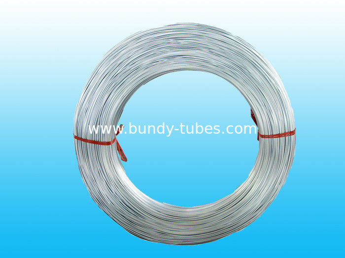 Hot Galvanized Bundy Tubes With 6.35mm X 0.65 mm For Heaters