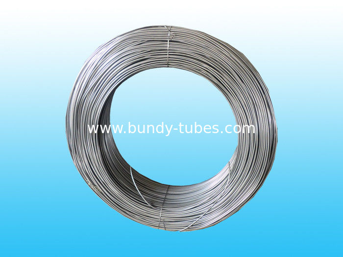 Round Plain 8mm Steel Tube / Light Pipe For Chiller , Condenser Tube
