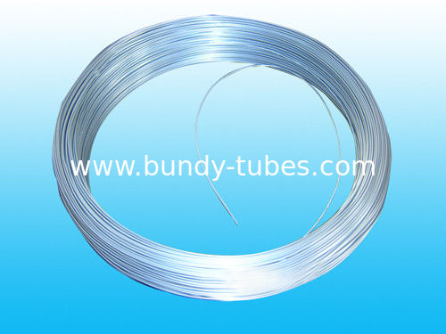 Zinc Coated Steel Bundy Pipe For Refrigerator 4.76 * 0.7 mm