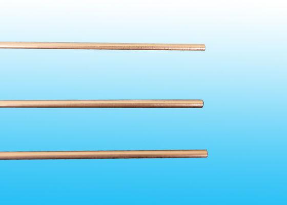 Os tubos revestidos de cobre do compressor, solda dobro da parede conduzem 3,6 * 0,5 milímetros